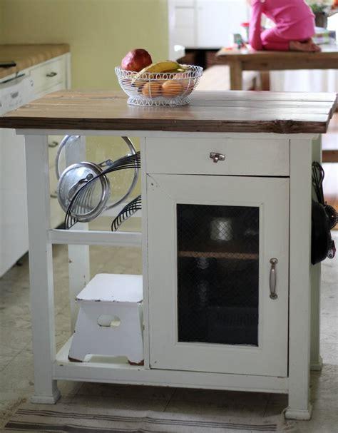rustic farmhouse style kitchen island makeover diy
