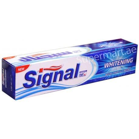signal whitening toothpaste ml  supermartae