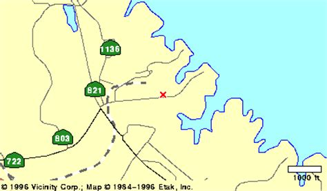 Clarksville Virginia Map