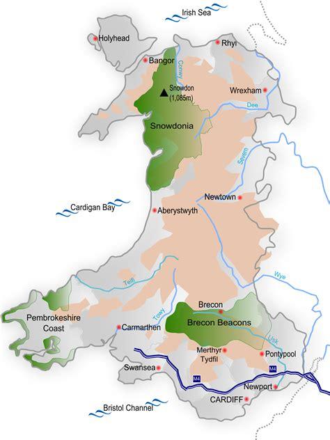 geography  wales wikipedia