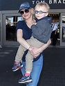 Anna Faris & Jack Touch Down at LAX | Celeb Baby Laundry