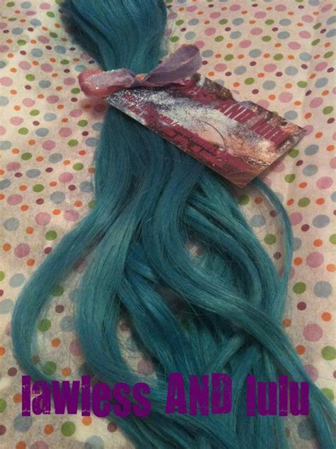 43 Best Images About Teal Hairhighlights On Pinterest