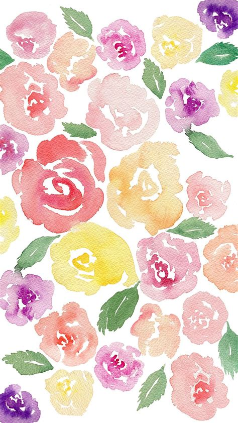 18+ watercolor flowers png images for your graphic design, presentations, web design and other projects. Pin by Rahmatollahtalebi on new design | Floral watercolor, Watercolor floral wallpaper, Flower ...