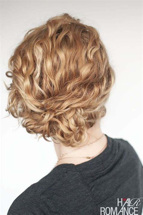 super easy updo hairstyle tutorial  curly hair hair