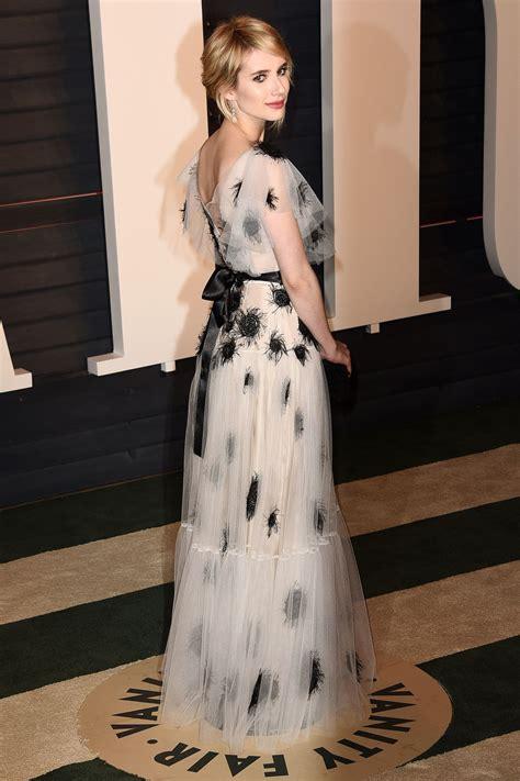 Emma Roberts Vanity Fair Oscar Party Beverly