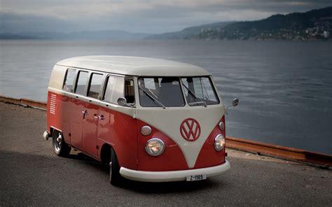volkswagen classic bus car volkswagen street road buses vintage sea coast