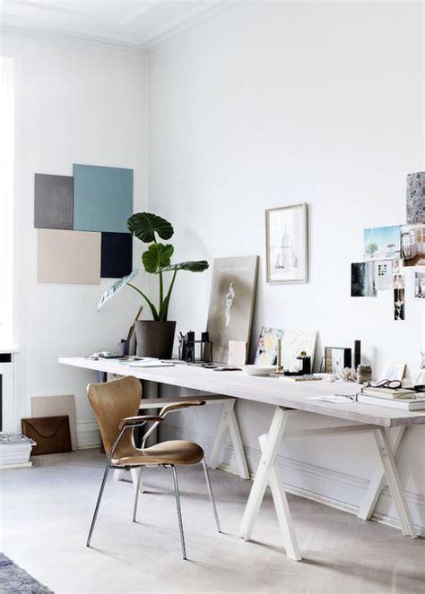 bureau line office inspiratieboost bureau met schragen voor in de home