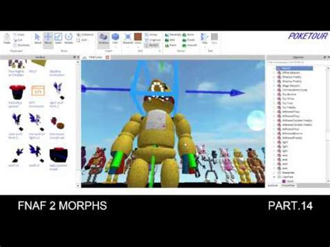 building  fnaf  map  roblox pt youtube