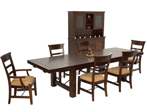 china cabinet dining table rustic mahogany dining table set mahogany china cabinet