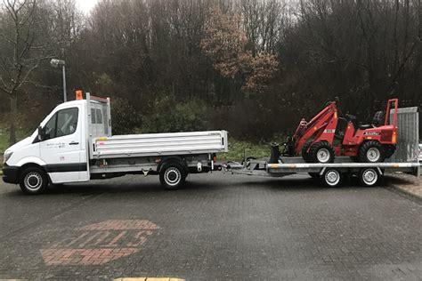 pkw anhänger günstig transporter 3 seitenkipper mit pkw anh 228 nger 3 5 t