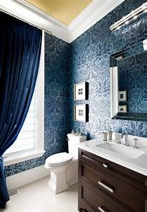 16, Elegant, Interiors, With, Damask, Wallpapers