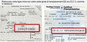 Code Moteur Carte Grise : certificat d immatriculation et le cnit d un v hicule ~ Maxctalentgroup.com Avis de Voitures