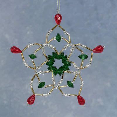 crochet covered christmas ornament crystal slider