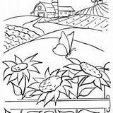 Wheat Coloring Pages Corn Crops Printable Getcolorings sketch template