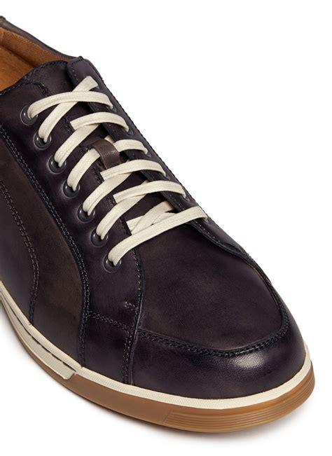 Vartan Brown cole haan vartan sport oxford leather sneakers in brown