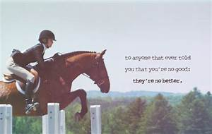 Horse Jumping Quotes. QuotesGram