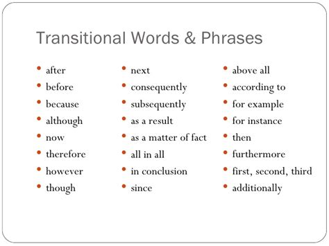 transition in an essay essay paragraph transition words