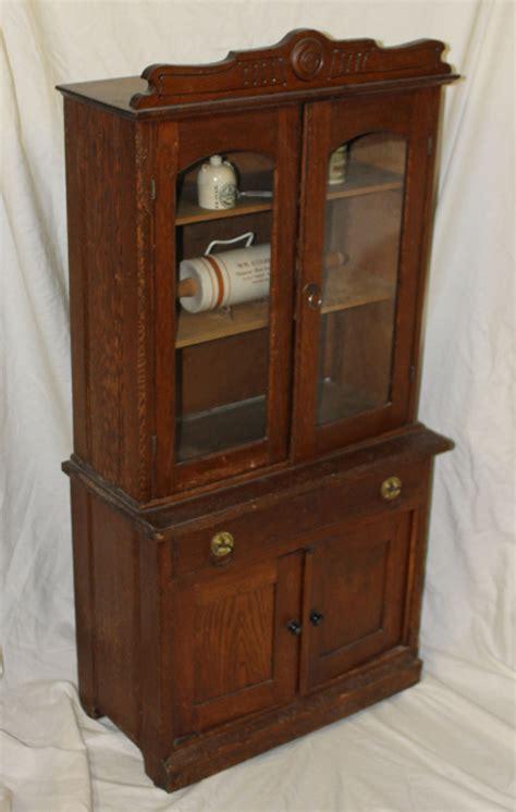 Kitchen Cupboard by Bargain S Antiques Antique Oak Kitchen Cupboard