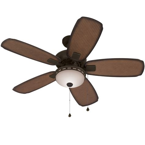 porch ceiling fans with lights shop harbor breeze oyster cove 52 in aged bronze downrod