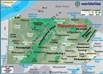 Map of Pennsylvania - Pennsylvania Map, Philadelphia ...