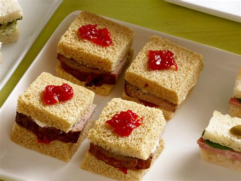 tea sandwiches recipes  cooking food network