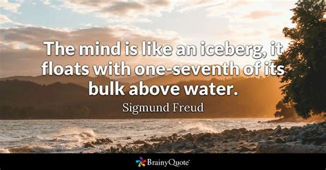 sigmund freud  mind    iceberg  floats