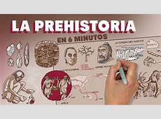 La Prehistoria en 6 minutos YouTube