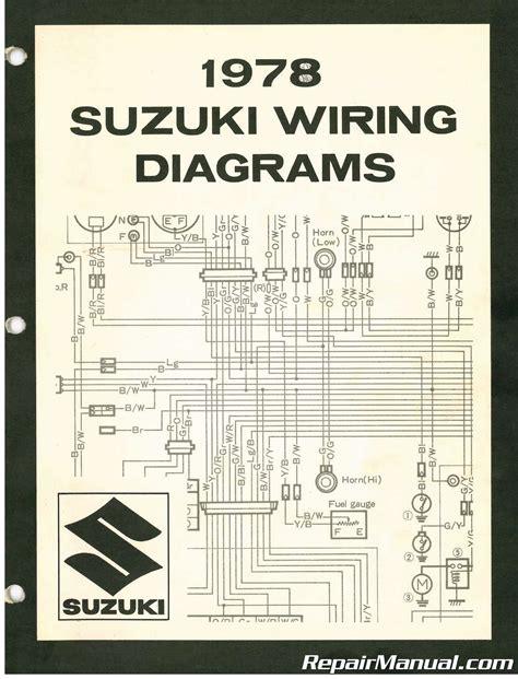 suzuki wiring diagram manual