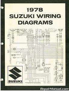 1978 Suzuki Wiring Diagram Manual