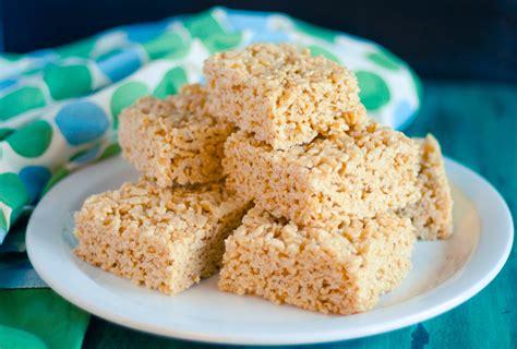 rice krispies treats recipe best rice krispie treats jennifer cooks