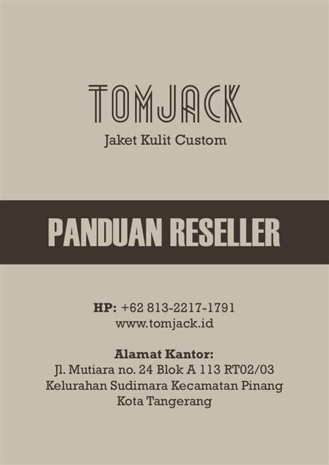 jaket kulit kambing jual jaket kulit untuk motor tomjack id 0813 22