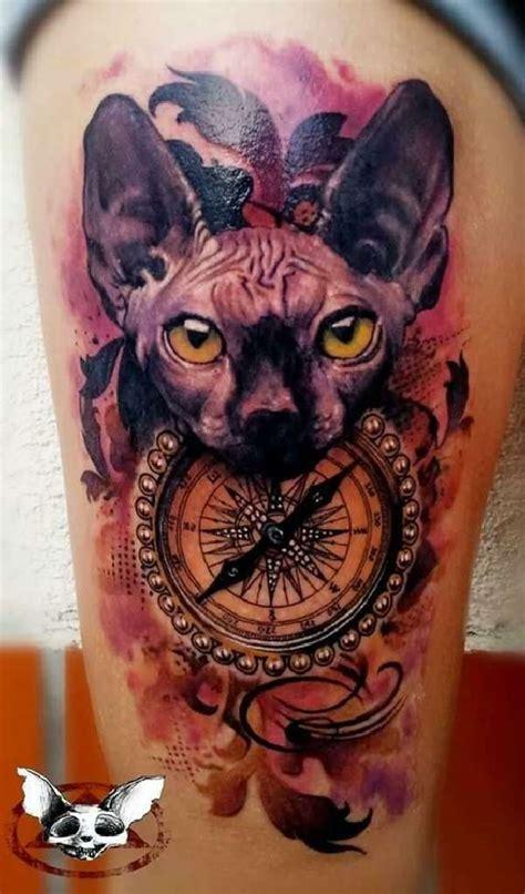 sphynx katzen tattoos tattoo spirit
