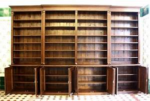Bücherwand Mit Leiter : regalwand mit t ren und leiter erle massiv 270x400x45cm ~ Indierocktalk.com Haus und Dekorationen