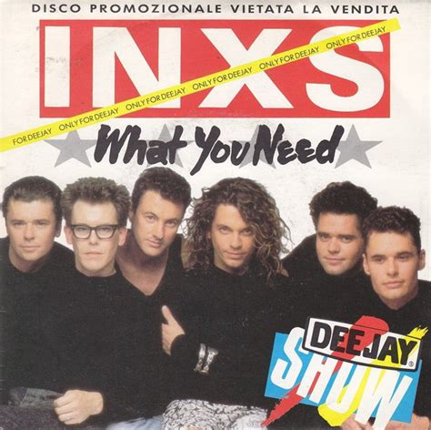 INXS - What You Need (1986, Vinyl) | Discogs