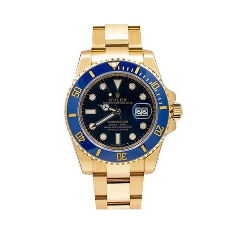 Rolex Submariner Date 116618LB 40MM With Yellow Gold ...