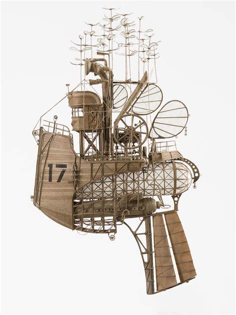 Steampunk Sculpture Art Imagines Spectacular Miniature