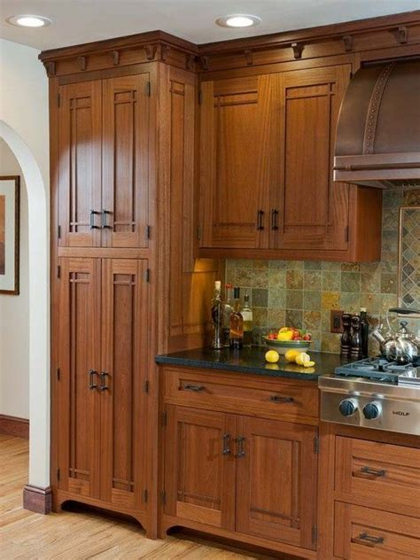 Furniture Style Kitchen Cabinets by 25 Best Ideas About Mission Style Kitchens On