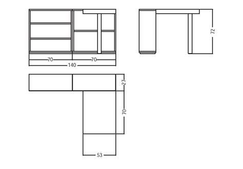 bureau le corbusier lc16 table de travail avec rayonnages bureau cassina