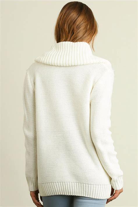 white cowl neck sweater white cowl neck sweater fashion skirts
