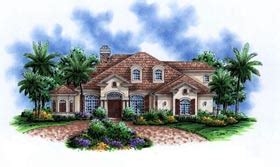 House Plan 72806 Modern Style with 3489 Sq Ft 3 Bed 4