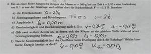 Auflagerreaktion Berechnen : pendel physik geschwindigkeit des oszillators beim ~ Themetempest.com Abrechnung