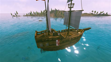 Small Boat Ylands by Exploration Ship Community Creations Ylands