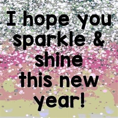 Sparkle Shine Friends Hope Greetings Card Send