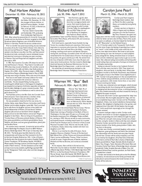 Bainbridge Island Review April 20 2012 by Sound