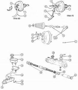 Fiat 124 Brake Servo  U0026 Master Cylinder