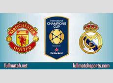 Manchester United vs Real Madrid Full Match Highlights