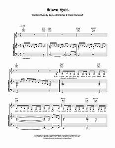Brown Eyes sheet music by Destiny's Child (Piano, Vocal ...