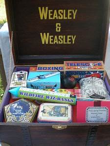 Harry Potter Needlecraft Trunk and Clue Trunk