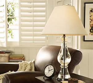 pottery barn marston crystal lamp copycatchic With buffet lamps pottery barn