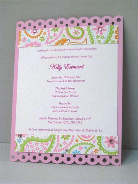baby shower invitations mckenna impressions